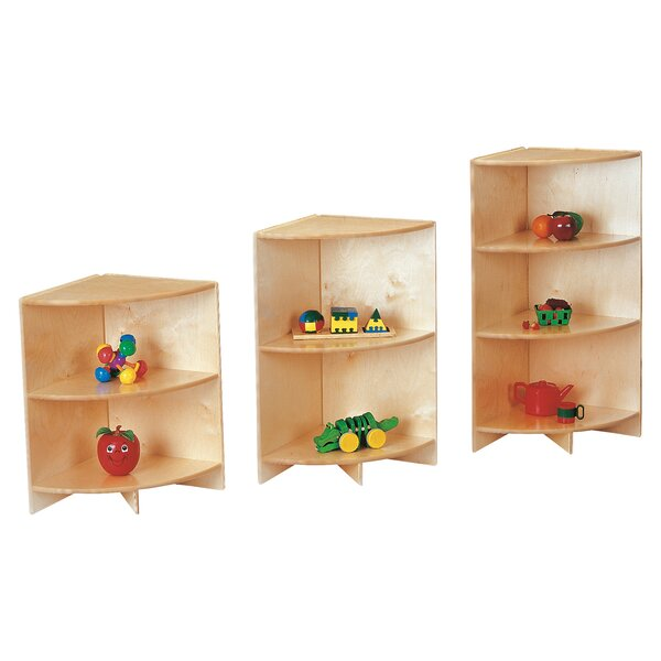 2 Compartment Shelving Unit by Jonti-Craft