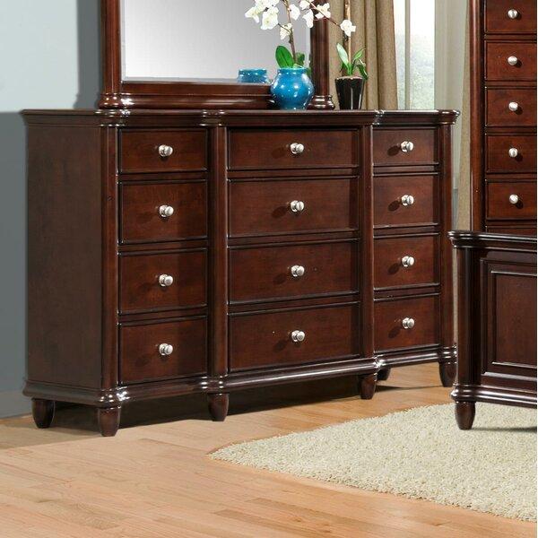 Bancroft Woods 12 Drawer Dresser by Alcott Hill
