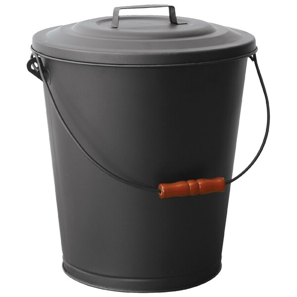 Ash Bin with Lid by Uniflame Corporation