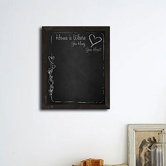 Wall Mounted Chalkboard, 22 x 18 by PTM