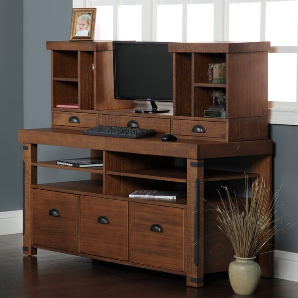 Leandra 2 Piece Desk Office Suite by Trent Austin Design