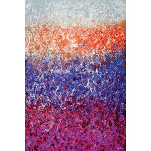 'Dying Light' Painting Print Wrapped on Canvas by East Urban Home