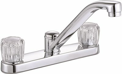 Bayview Double Handle Kitchen Faucet with Side Spray by Premier Faucet