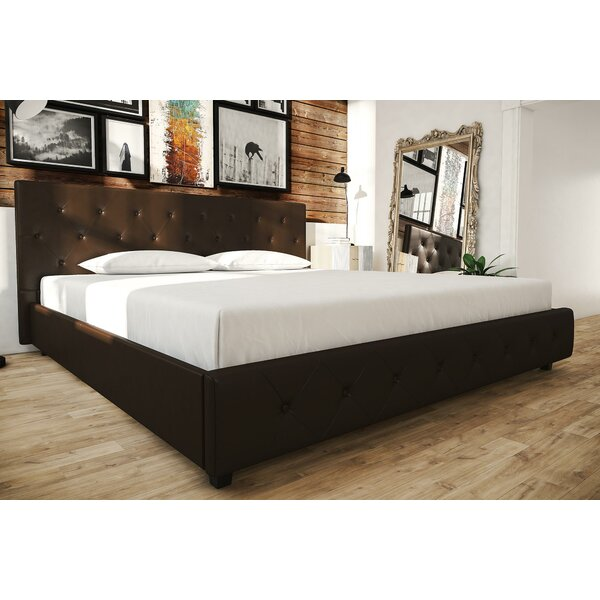 Salina King Upholstered Platform Bed by Andover Mills