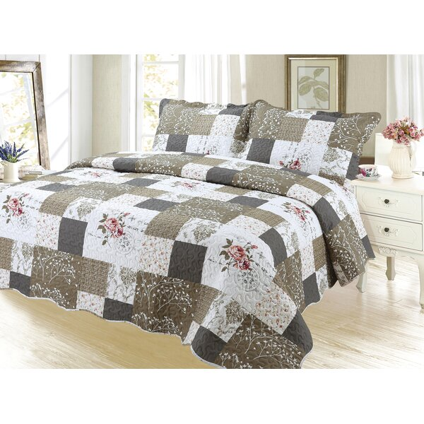 Sapphira Reversible Quilt Set by August Grove