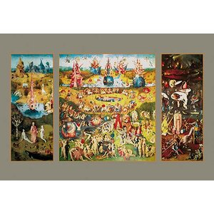 'The Garden of Earthly Delights' by Hieronymus Bosch Painting Print by Buyenlarge