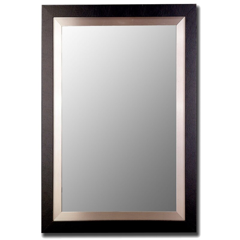 Brushed Nickel Wall Mirror hitchcock butterfield company satin black and brushed nickel