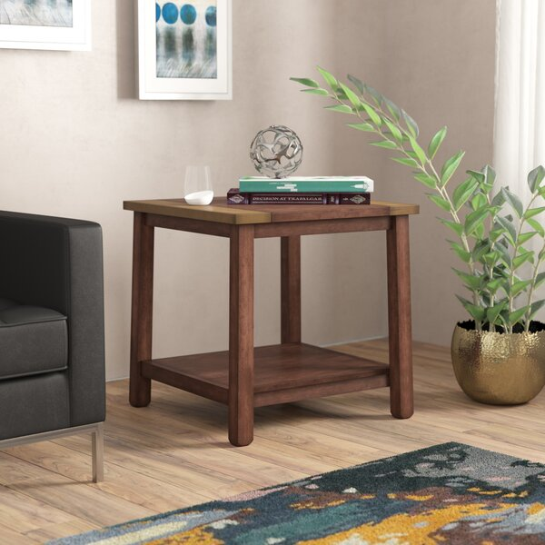 Newsoms End Table by Brayden Studio