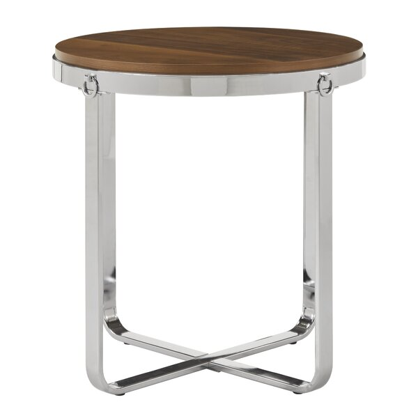 Brehmer End Table By Wrought Studio