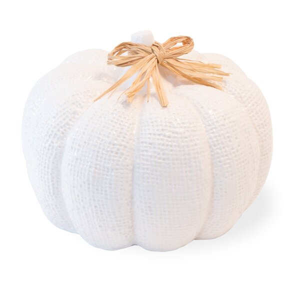 Burlap Pumpkin by The Holiday Aisle