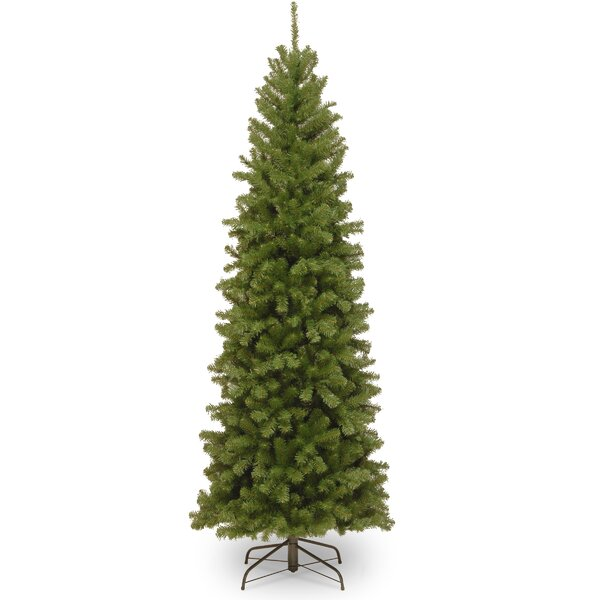 North Valley Pencil Green Spruce Trees Artificial Christmas Tree by Latitude Run