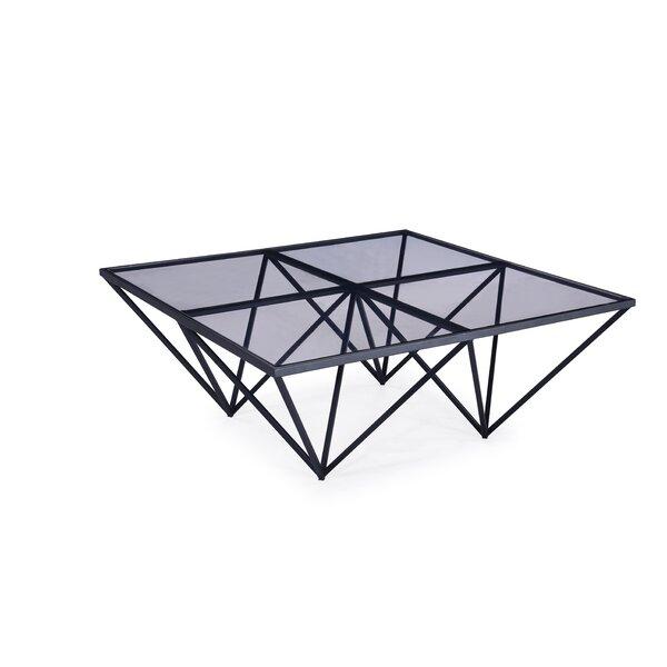 Timmie Metal Coffee Table by Brayden Studio Brayden Studio
