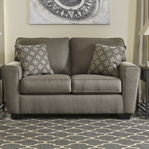 Buy Online Reasor Loveseat by Gracie Oaks by Gracie Oaks
