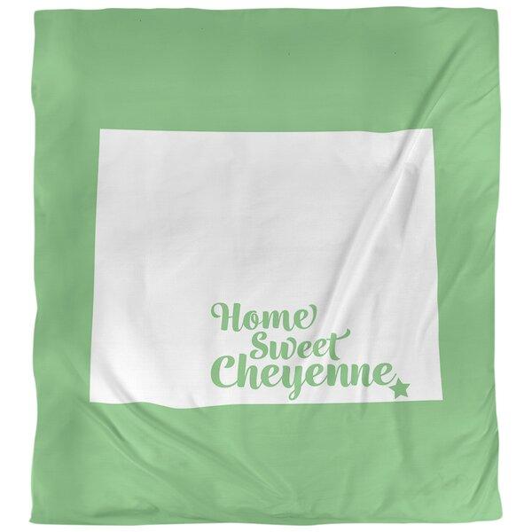 Cheyenne Wyoming Single Reversible Duvet Cover