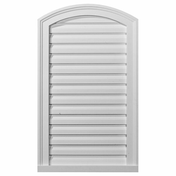 24H x 18W Eyebrow Gable Vent Louver by Ekena Millwork