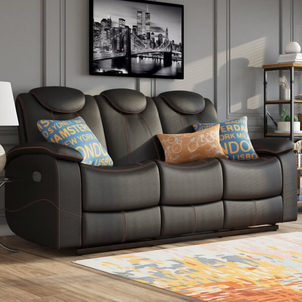 Erik Double Reclining Sofa by Latitude Run