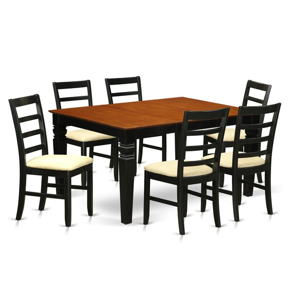 Chandler 7 Piece Dining Set by Red Barrel Studio Red Barrel Studio