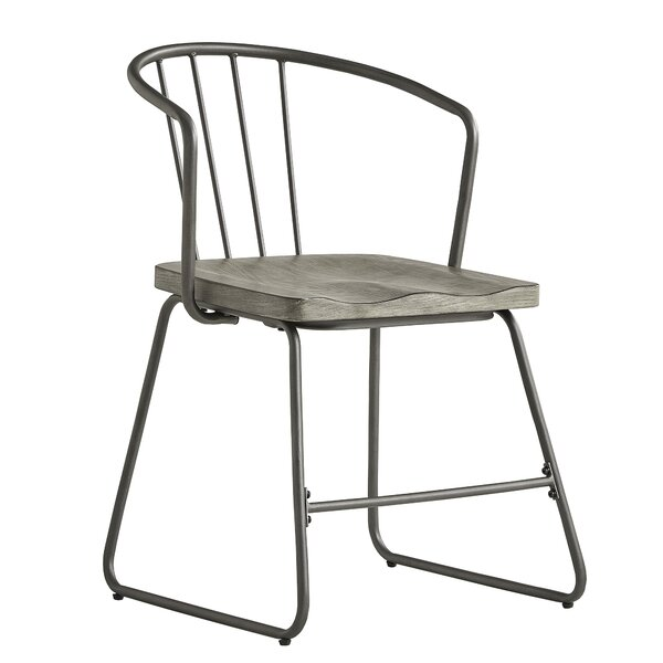 #1 Timmins Iron Dining Chair (Set Of 2) By Williston Forge Reviews