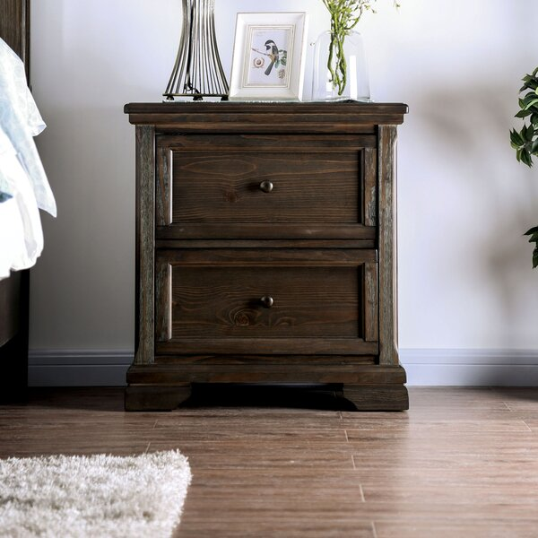 Trever 2 Drawer Nightstand by Darby Home Co