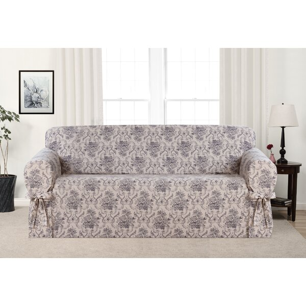Box Cushion Sofa Slipcover by One Allium Way