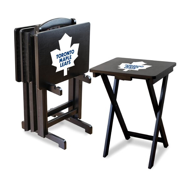 NHL TV Trays with Stand (Set of 4) by Imperial International