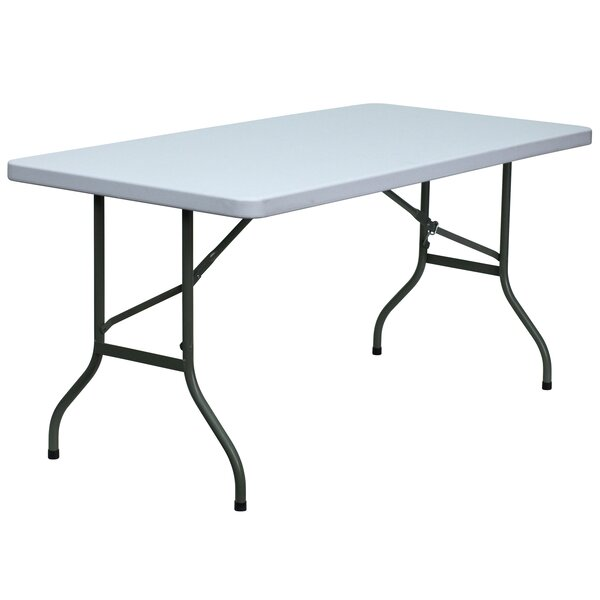 60 Rectangular Folding Table by Flash Furniture