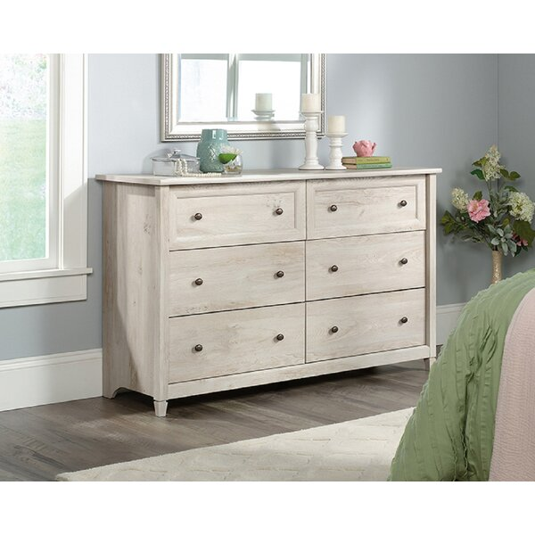 Embiid 6 Drawer Double Dresser By Latitude Run by Latitude Run 2020 Sale