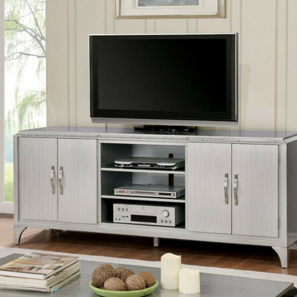 Loughlin Solid Wood TV Stand For TVs Up To 85