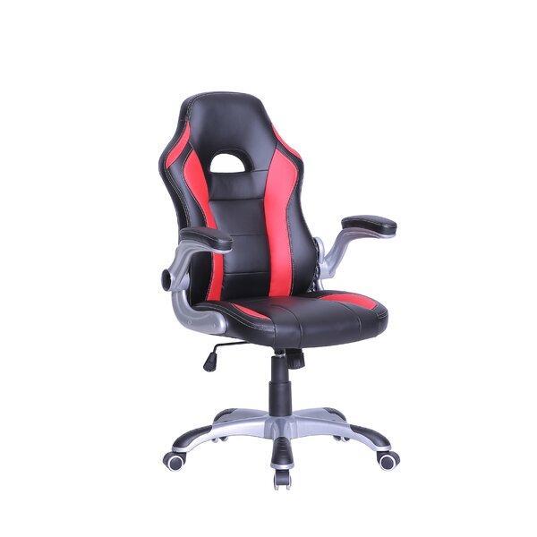 Erisa Adjustable High-Back Gaming Chair by Latitude Run