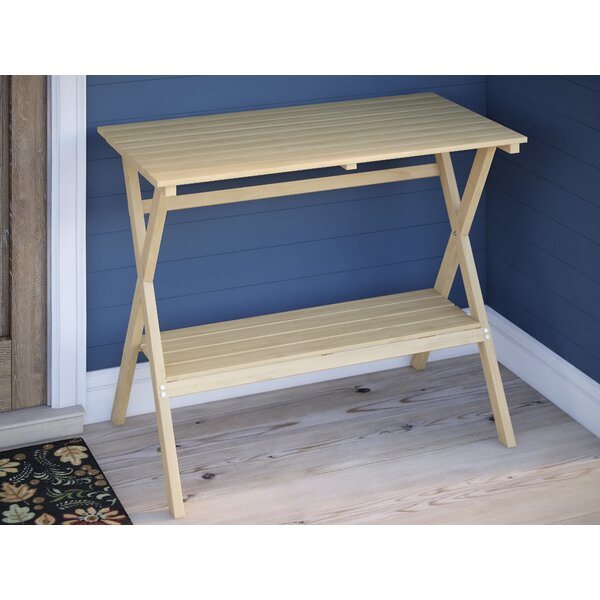 Solid Wood Coffee Table by August Grove