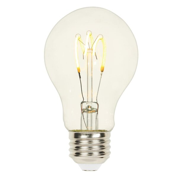 2.5W E26 Dimmable LED Edison Light Bulb by Westinghouse Lighting