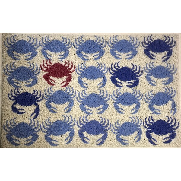 Hounsfield Crabs Doormat by Longshore Tides