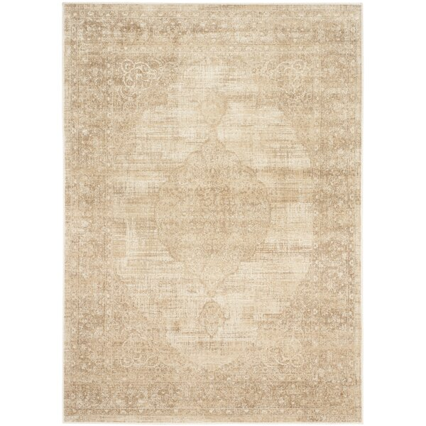 Cortes Creme Area Rug by Astoria Grand