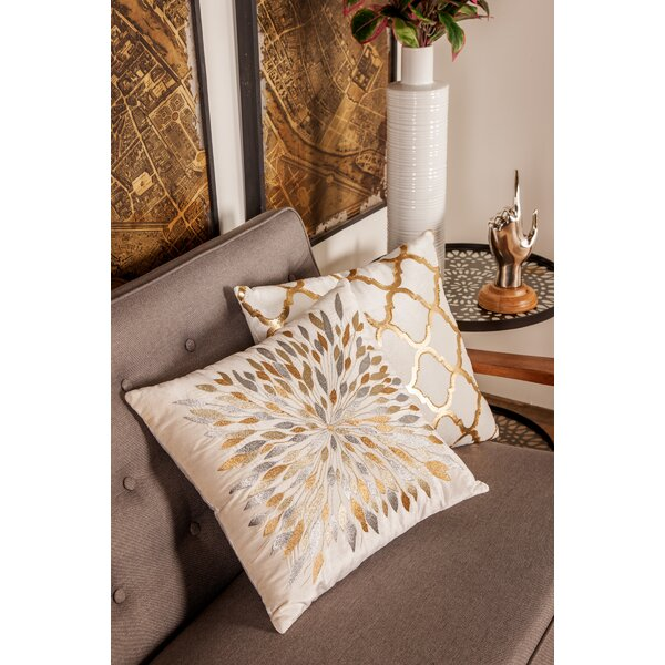 Adhafera Modern Throw Pillow by Mercer41