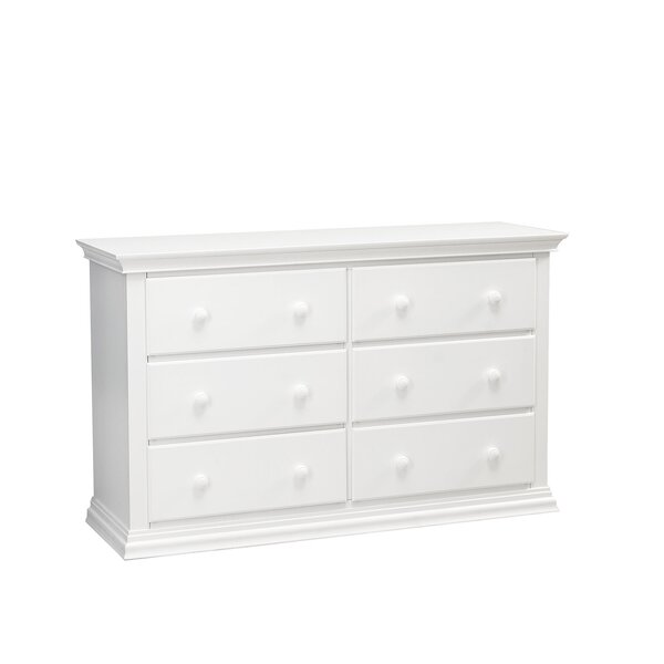 Greenwich 6 Drawer Double Dresser by Muniré