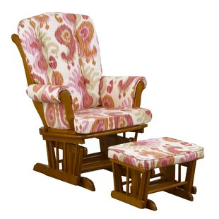 Sundance Ikat Glider with Ottoman by Cotton Tale