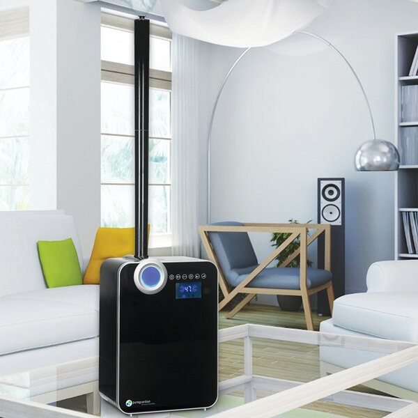 PureGuardian 2 Gal. Cool and Warm Mist Ultrasonic Console Humidifier by Guardian Technologies
