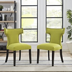 yellow kitchen & dining chairs you'll love | wayfair