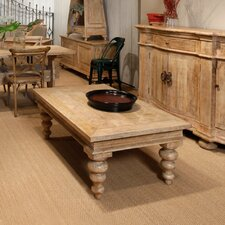 Clarksdale Parquet Coffee Table by Sarreid Ltd