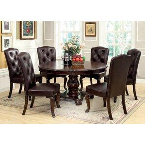 7 piece round kitchen & dining room sets you'll love | wayfair