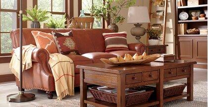 Rustic Living Room Design