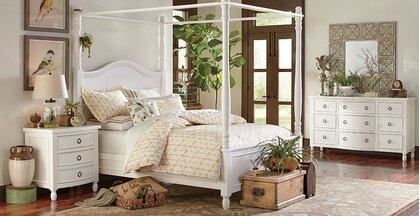 Cottage/Country Adult Bedroom Design