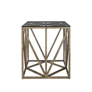 Wellison Square End Table by Gracie Oaks