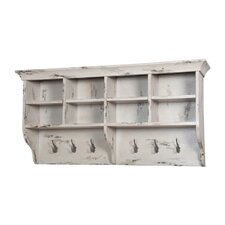 Warsaw Hanging Wall Accent Shelf by Rosecliff Heights