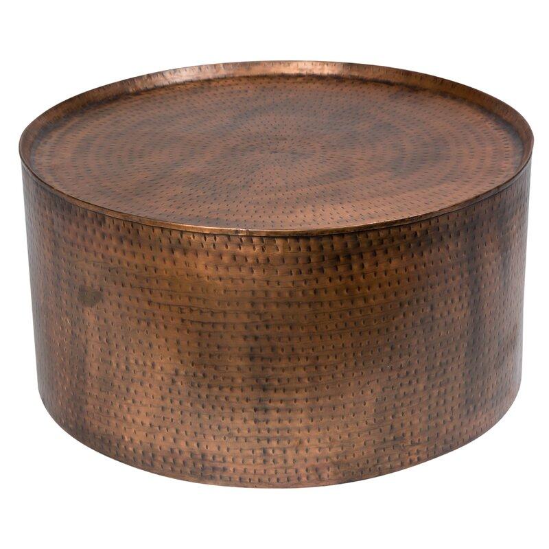 porter international designs rotonde hammered metal industrial