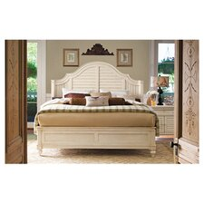 Steel Magnolia Panel Bed by Paula Deen Home