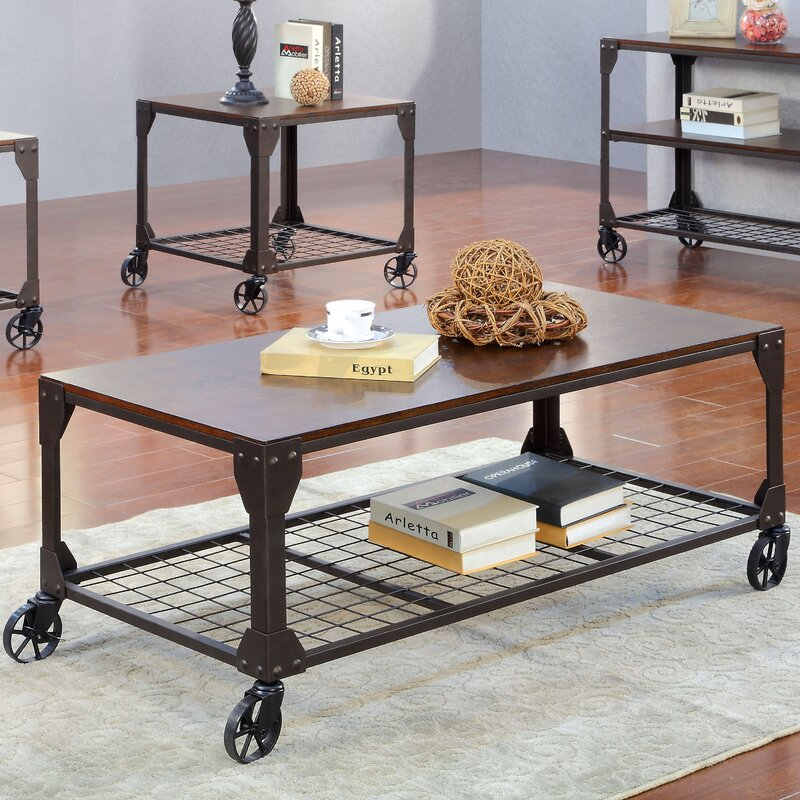 Furniture Design Hobart trent austin design hobart coffee table & reviews | wayfair