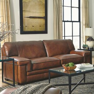 Winchester Leather Sofa by Brayden Studio