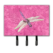 Dragonfly Leash Holder and Key Hook by Caroline's Treasures