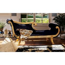 Cleopatra Neoclassica Fabric Chaise Lounge by Design Toscano